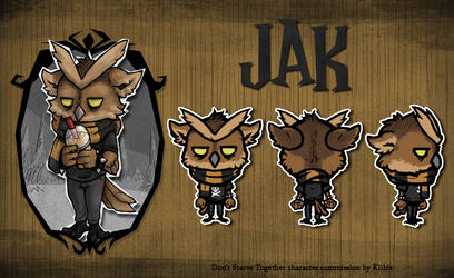 Don't Starve Together MOD commission - Jak by Kiibie
