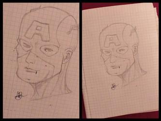 Captain America by Kid-Jabberwocky