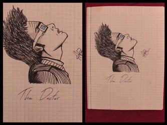 The Doctor. by Kid-Jabberwocky