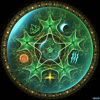 Pentacle by fractist