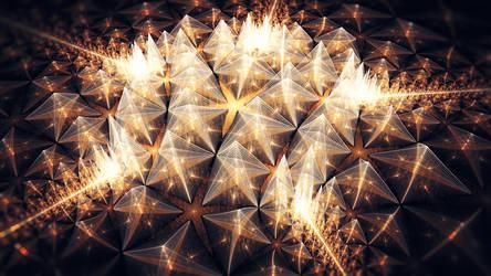 Energy lattice matrix by fractist