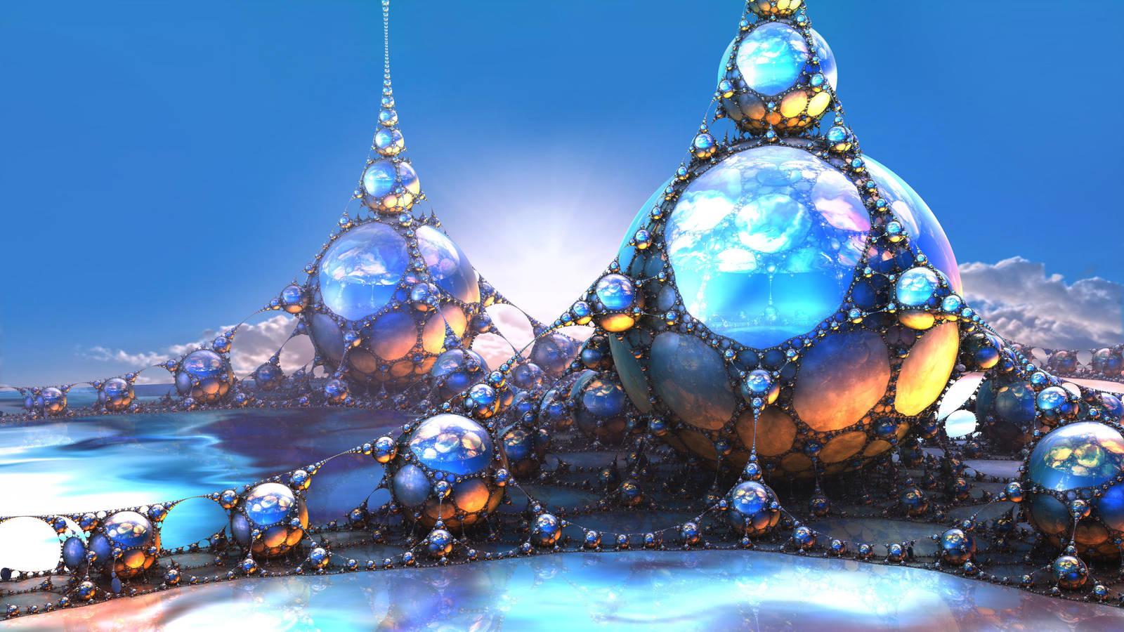 jade sea by fractist