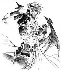 Demon's wings by eguana