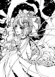 Moonlight Lady by eguana