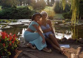 Kida and Jasmine by MaddMorgana
