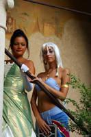 Tiana and Kida by MaddMorgana