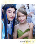 Tinkerbell and Silvermist by MaddMorgana