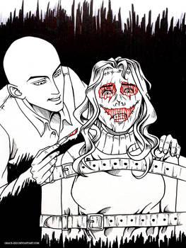 Inktober - Mask by Grace-Zed