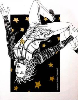Inktober - Star by Grace-Zed