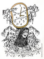 Inktober - Clock by Grace-Zed