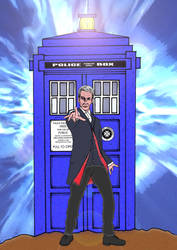The 12th Doctor by mikedaws