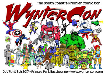 Wyntercon 2017 - Convention Poster by mikedaws