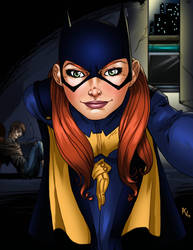 Batgirl Selfie By Avarts74 On Deviantart