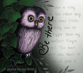 Pink Owl by Demigog