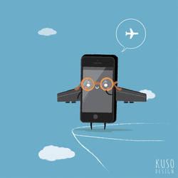 Airplane mode by kusodesign