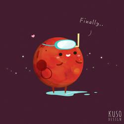 Mars by kusodesign