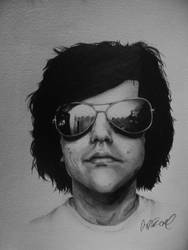 Portrait of a Friend by AlyssaMarae
