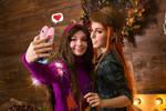 selfie with bestie by sauronushka