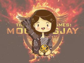 Katniss Everdeen - Mockingjay by jeinirelova
