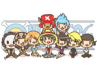 JeiniDoodles // One Piece by jeinirelova