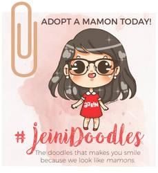 JeiniDoodles // Adopt A Mamon by jeinirelova