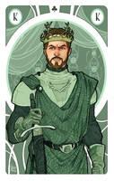 Game of Thrones' cards   King Renly Baratheon by SimonaBonafiniDA