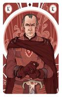 Game of Thrones' cards   King Stannis Baratheon by SimonaBonafiniDA