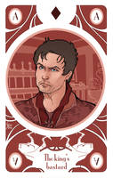 game of Thrones' cards   Ace Gendry Baratheon by SimonaBonafiniDA