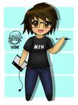 Chibi Drawing Of Me by Skyrue117