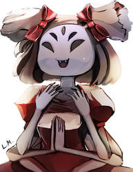 More Muffet Yay by LunarMew