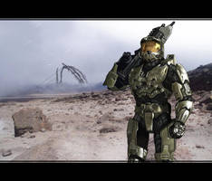 Halo Master Chief by eXcrem
