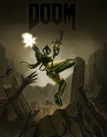 DOOM Girl by eXcrem by eXcrem