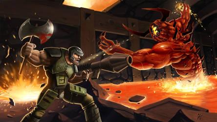 Quake vs Chthon by eXcrem