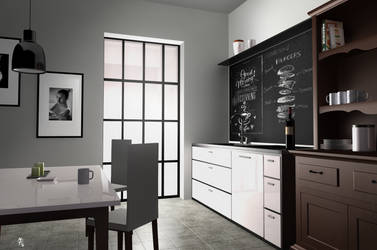 Kitchen room by eXcrem by eXcrem