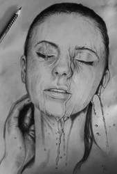 Pen drawing - by eXcrem by eXcrem