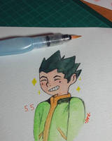 HxH: Gon by wantutre