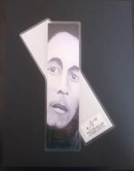 Bob Marley Bookmark by KleinerSchelm