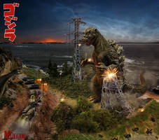 Godzilla: Birthday Ed.8 (Best Showa Design) by innocentoVia