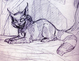 Cheshire Cat by Prismas