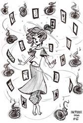 Inktober #6 by DeskaChan