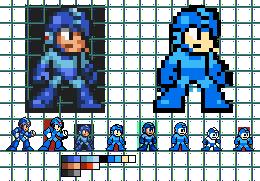 another Megaman Sprite Remake by BerserkerOx