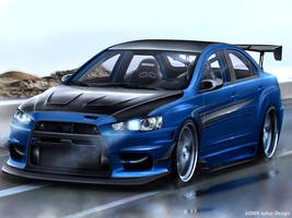 Mitsubishi Lancer Evolution X by aykutfiliz