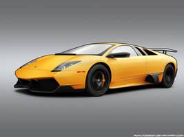 Lamborghini Murcielago Toon by aykutfiliz