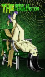 The bride of Frankenstein by Cruenttus
