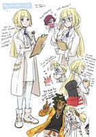 Pokemon Sun and Moon : Professor Lillie by DC9spot