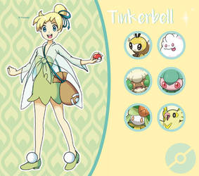Disney Pokemon trainer : Tinkerbell by Pavlover