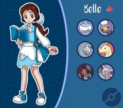 Disney Pokemon trainer : Belle by Pavlover