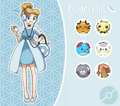 Disney Pokemon trainer : Cinderella by Pavlover