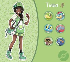 Disney Pokemon trainer : Tiana by Pavlover