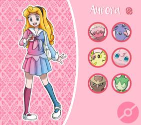 Disney Pokemon trainer : Aurora by Pavlover
